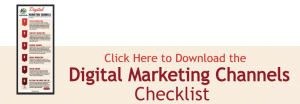 Digital Marketing Channels Checklist